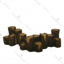 鱼缸装饰品(木柱堆2)#td0011