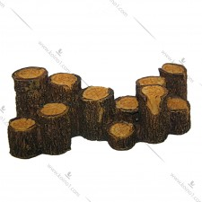 鱼缸装饰品(木柱堆)#td0010