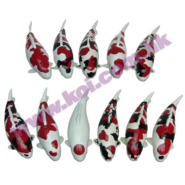 坐枱式- 手绘陶瓷模型锦鲤
