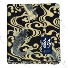 日本制錦鯉高质全棉正方巾 52cm x 52cm (加大) 便当包布拷貝